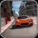 city speed car: Thrill racing icon