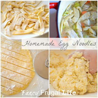 How to Make Homemade Egg Noodles for Soup (Turkey Noodle Soup Recipe).