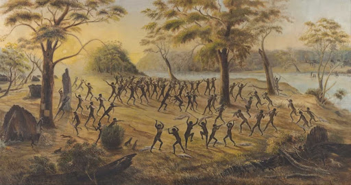 Native Fight on the Lower Goulburn River in 1842