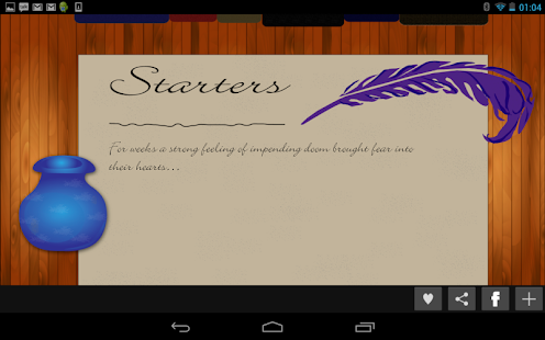 creative writing tools android