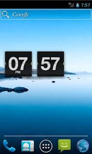Retro Flip Clock- screenshot thumbnail
