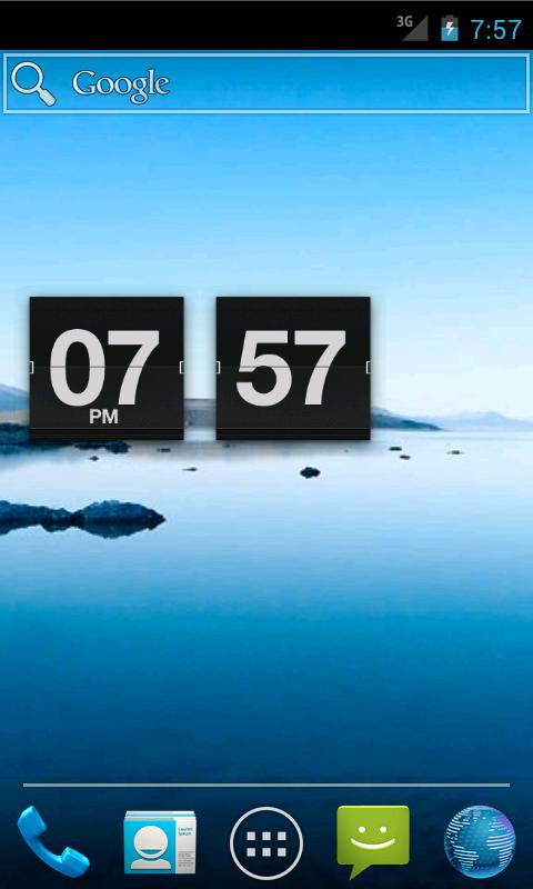 Retro Flip Clock - screenshot