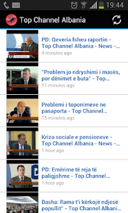 Top Channel Albania - screenshot thumbnail