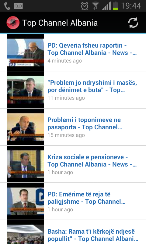 Top Channel Albania - screenshot
