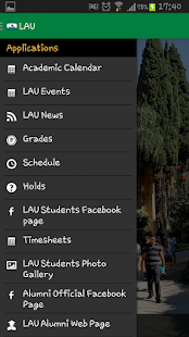LAU Mobile Application - screenshot thumbnail