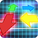 Arrow Swipe Run X: Rhythm game icon
