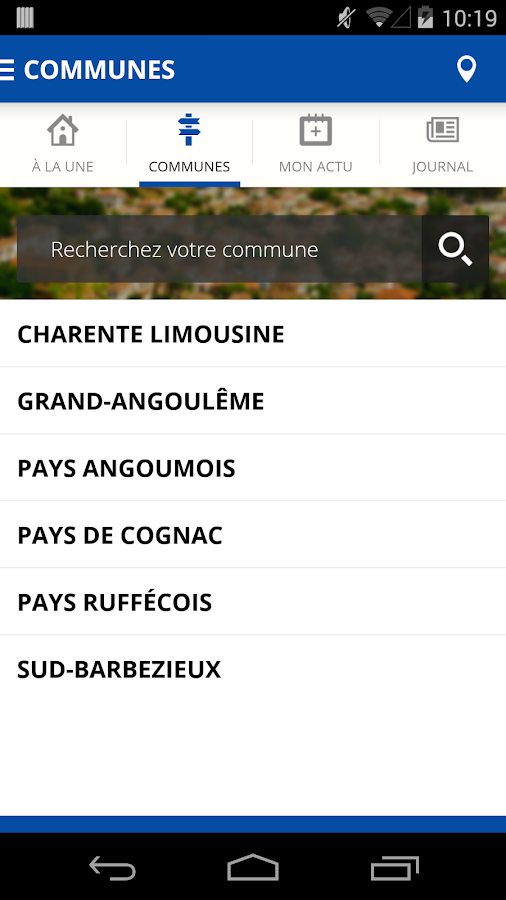 Charente Libre- screenshot