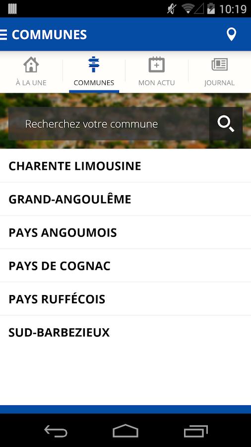 Charente Libre - screenshot