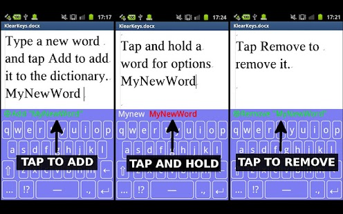 Transparent Keyboard Phone - screenshot thumbnail