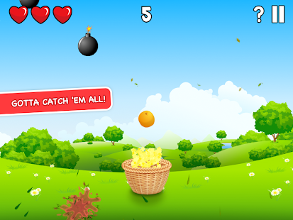Circus Basket Fruit Catcher - screenshot thumbnail
