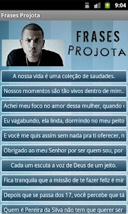 Frases Projota - screenshot thumbnail