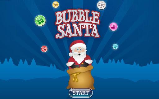 Bubble Santa
