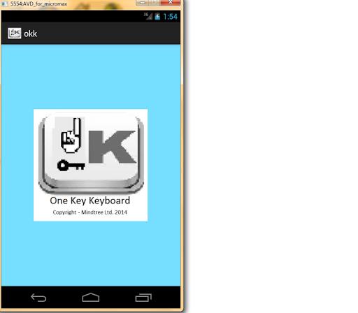 Okk One key keyboard