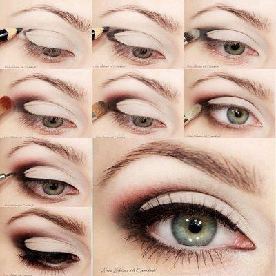 Eyes Makeup - Steps