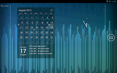 Calendar Widget: Month+Agenda - screenshot thumbnail