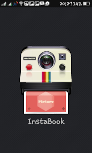 InstaBook Camera screenshot