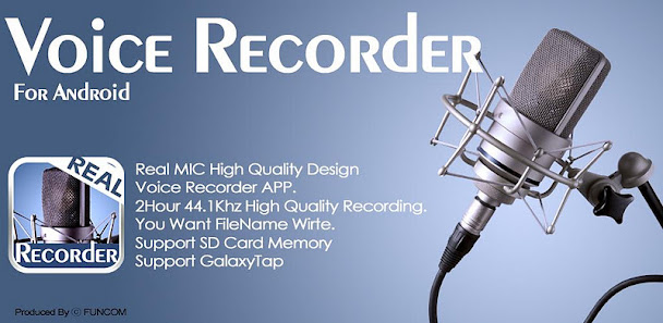 Voice Recorder-REAL MIC v1.0.0