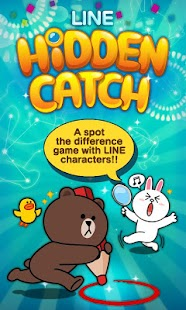 LINE HIDDEN CATCH - screenshot thumbnail
