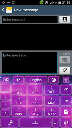 Keyboard Galaxy 3.1 screenshot 191972