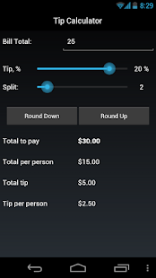 TipCalculator - screenshot thumbnail