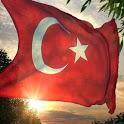 Dalgalanan Türk Bayrağı HD icon