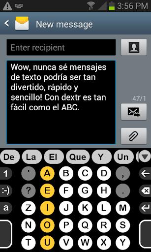 Spanish dictionary for Dextr