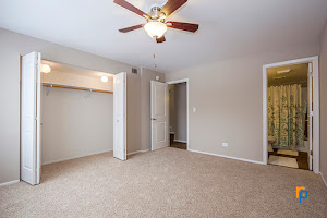 Bedroom at Greenway at Carol Stream Apartments