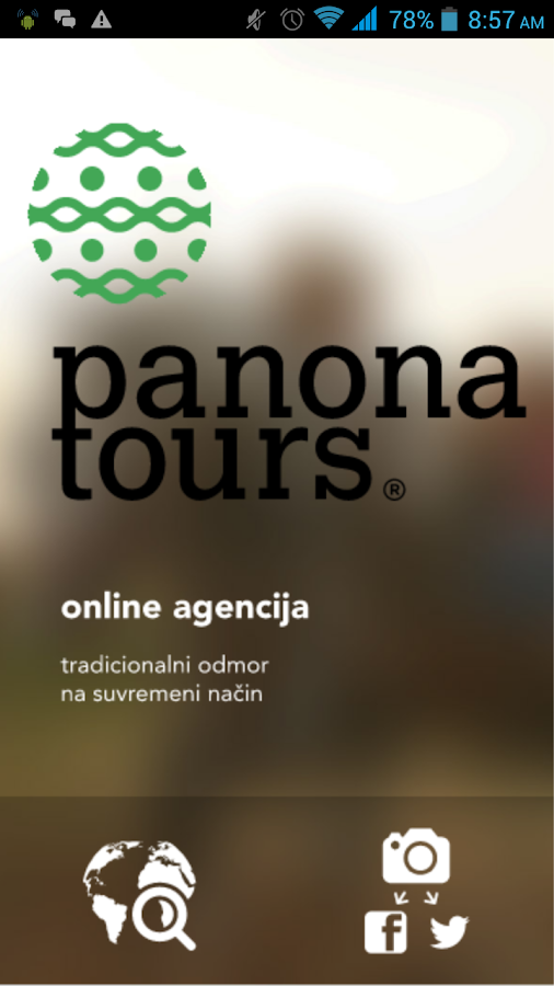 Panona Tours- screenshot