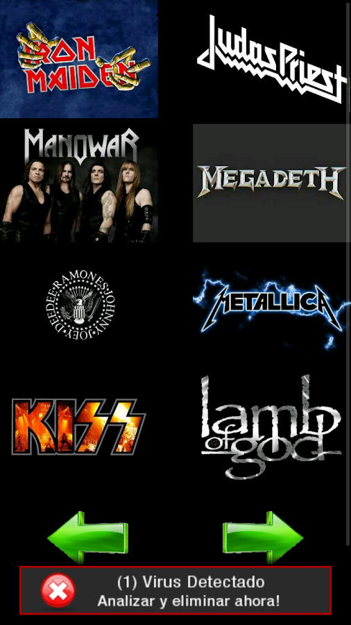 Heavy Metal Wallpaper - screenshot