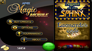 Screenshot of Magic Mobile Slots