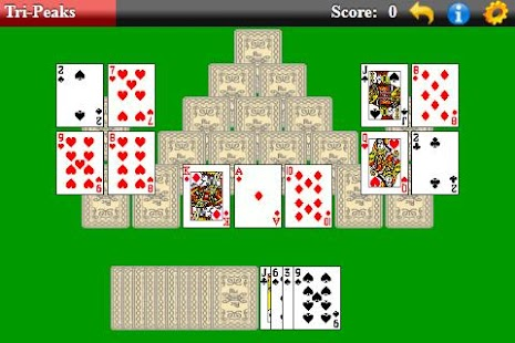 Tri-Peaks Solitaire - screenshot thumbnail