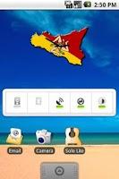 Screenshot of Sicily 2 Clock Widget