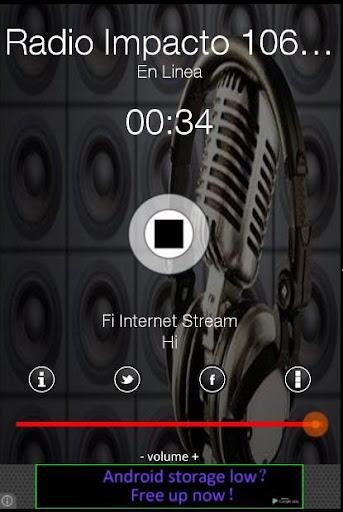 Radio Impacto 106.10 MHz