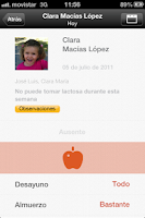 Screenshot of KinderClose Familiar