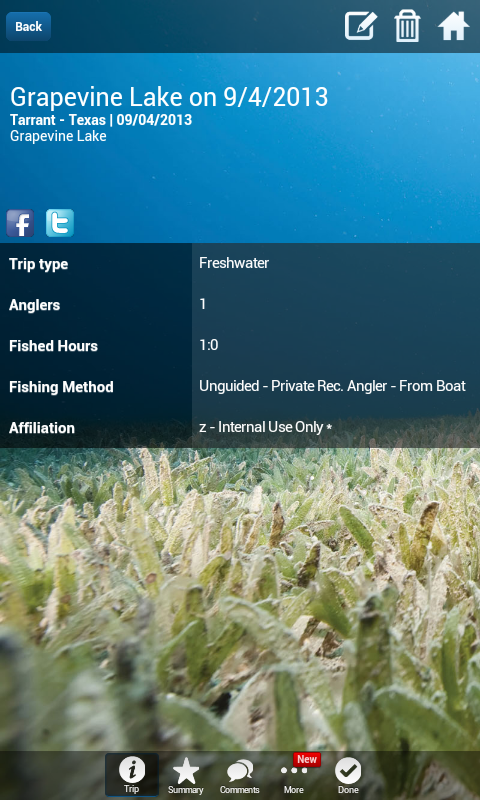 iAngler by Angler Action- screenshot