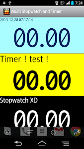 Multi Stopwatch & Timer  free screenshot 0