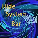 Hide System Bar icon