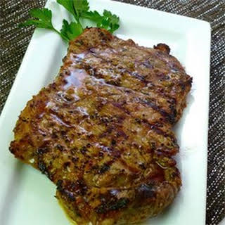 Cuban Marinated Steak.