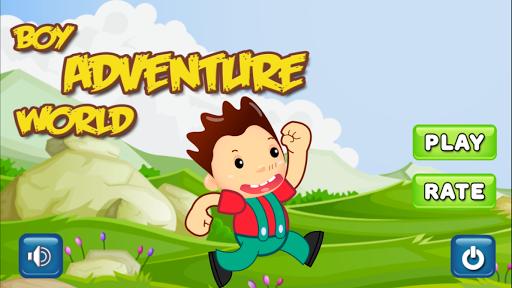 Boy Adventure World: Fun Game