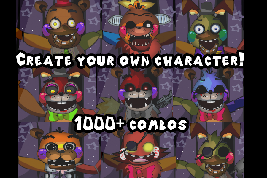 Design Your Character And Play : Freddy s jumpscare factory android apps on google play
