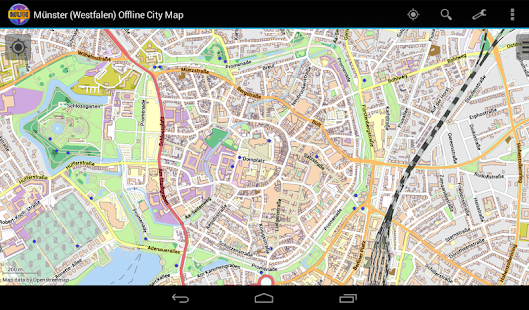 Münster Offline City Map- screenshot thumbnail