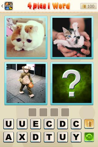 Guess Word - 4 pics 1 word - screenshot