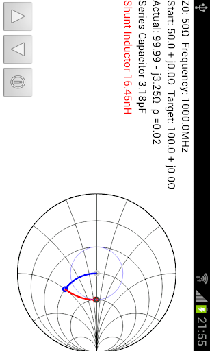 Smith Chart Matching Calc