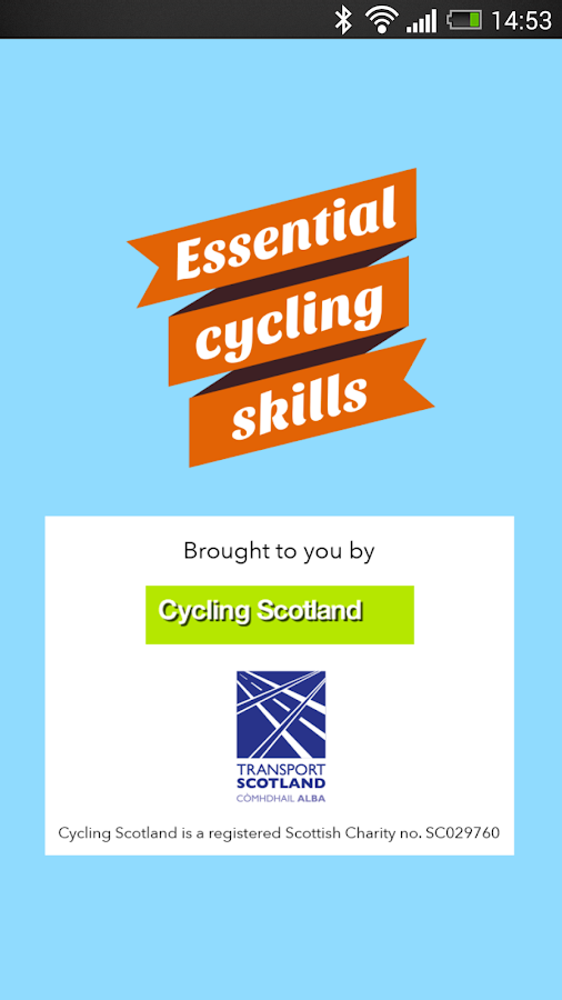 Essential Cycling Skills- screenshot