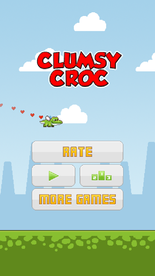 Clumsy Croc - screenshot
