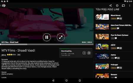 Spuul - Indian Movies & TV 2.5.0 screenshot 237003