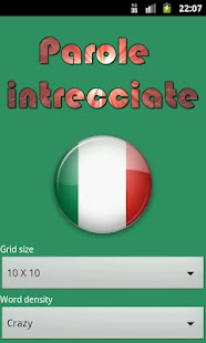 Parole Intrecciate italiano - screenshot thumbnail
