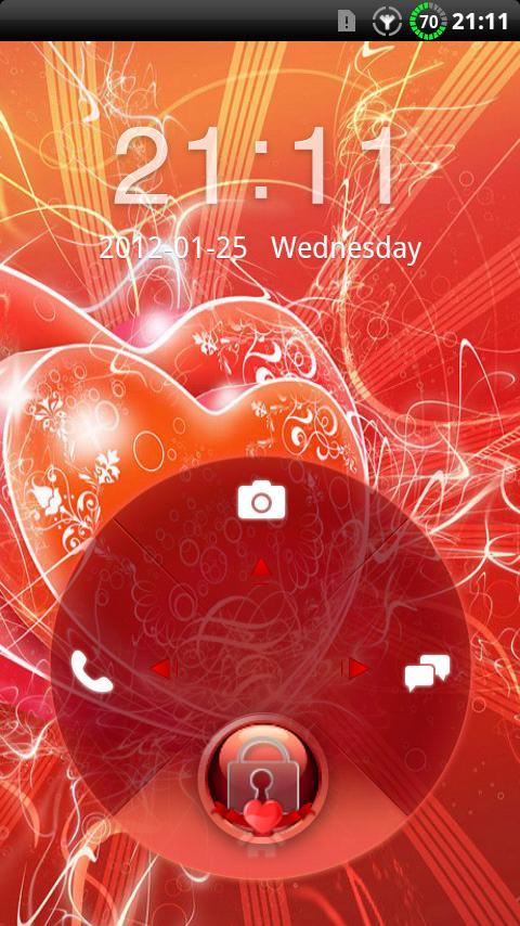 GO Locker Valentines Theme- screenshot