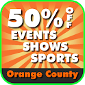 50% Off Orange County, CA logo