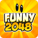 Funny 2048 icon